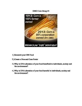 Example Essay on Genetically Modified Food - EasyGoEssay